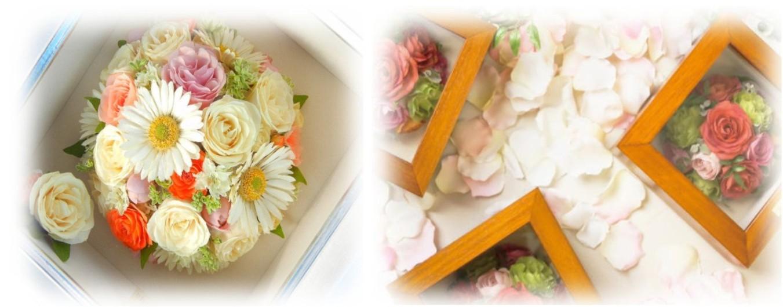 花束保存 ドライ加工